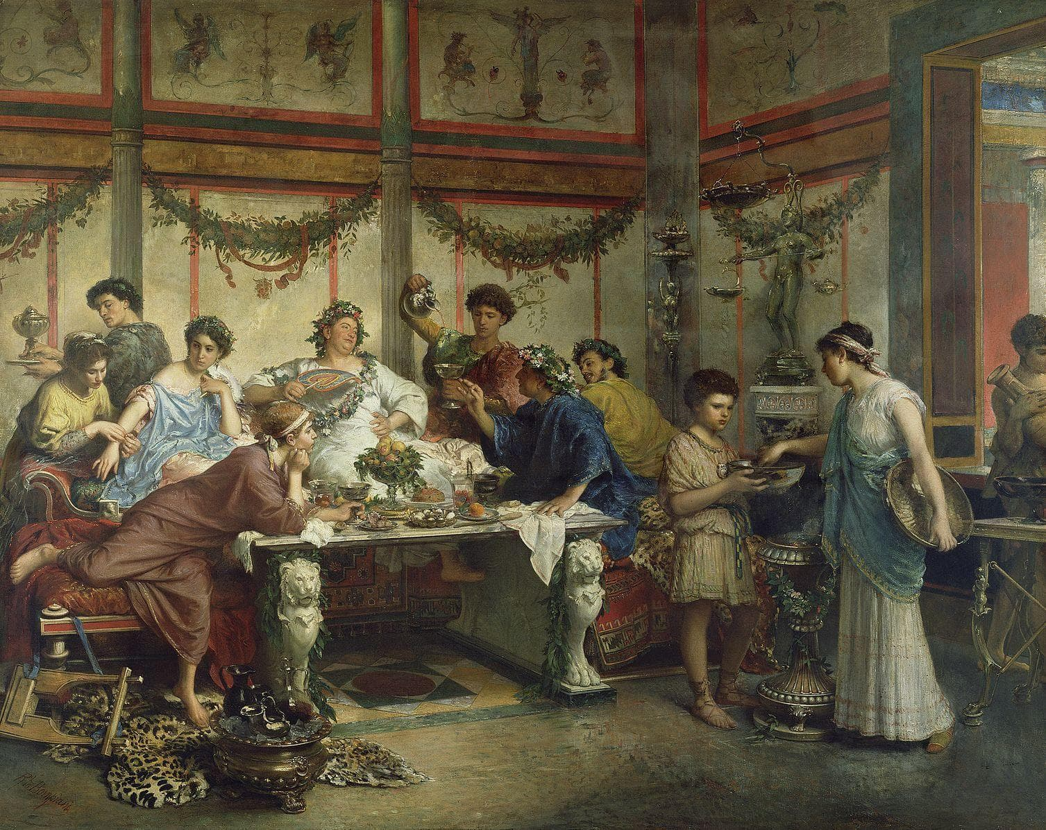 Image of Random Roman Aristocrats Poisoned Themselves With Artificial Sweeten