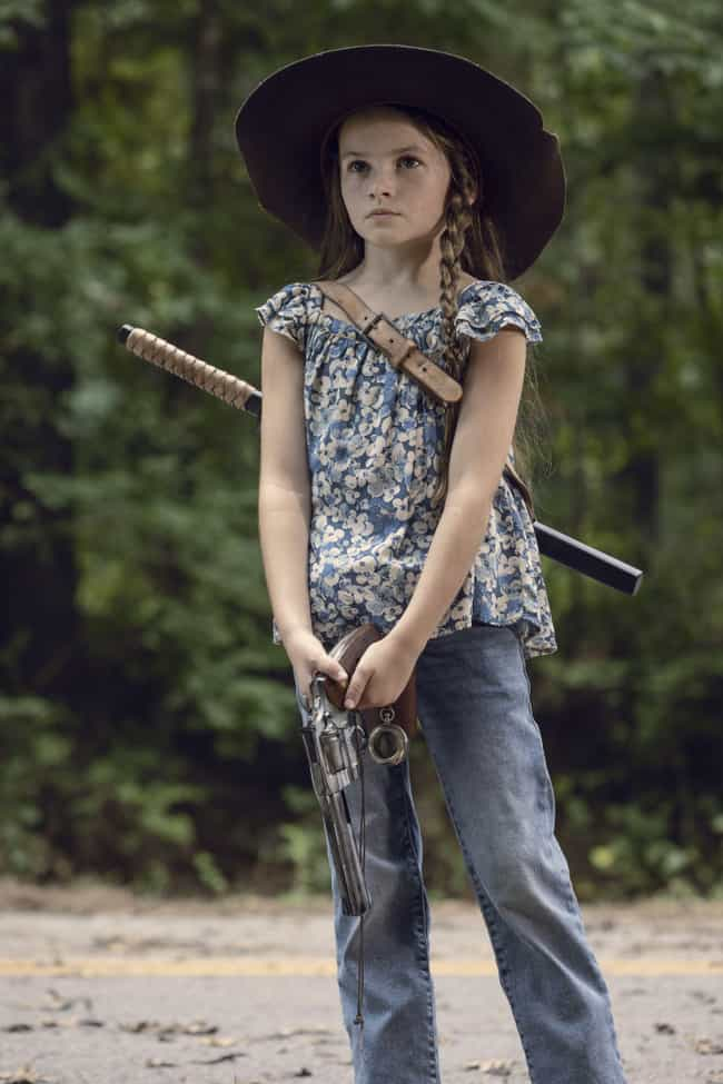 Daryl And Judith Catch Up is listed (or ranked) 2 on the list 'The Walking Dead' Season 9, Ep. 14, Recap: Flashbacks Reveal What Happened After Rick Disappeared