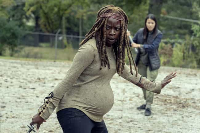 Michonne Reveals Her Terrible ... is listed (or ranked) 1 on the list 'The Walking Dead' Season 9, Ep. 14, Recap: Flashbacks Reveal What Happened After Rick Disappeared