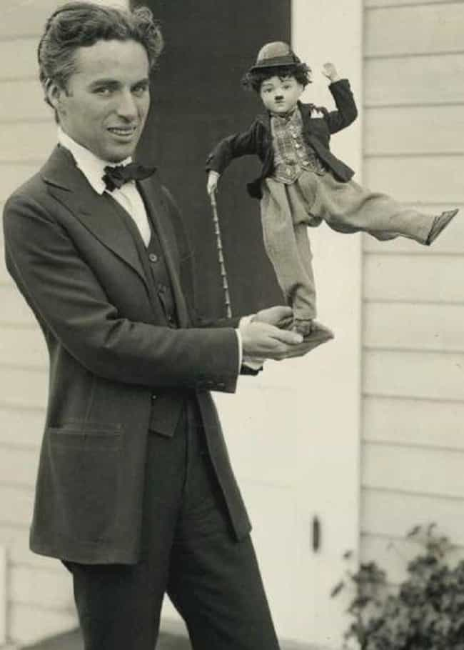 Charlie Chaplin Shows Off A Do... is listed (or ranked) 4 on the list 18 Rare Photos From The Golden Age Of Hollywood