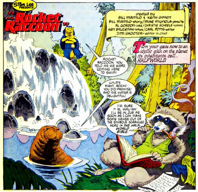 Rocket Raccoon's Comic Book Origins Are Too Messed Up For The MCU