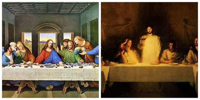 The Painting Is Set In The Day... is listed (or ranked) 2 on the list Fact Checking Da Vinci's 'The Last Supper'