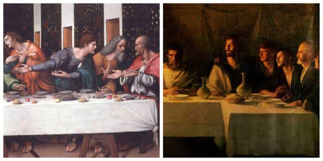 The Apostles Wear Renaissance ... is listed (or ranked) 3 on the list Fact Checking Da Vinci's 'The Last Supper'