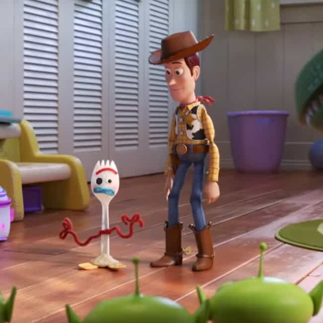 Meet Forky is listed (or ranked) 4 on the list The Best Quotes From 'Toy Story 4'