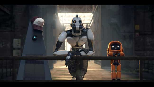 Three Robots is listed (or ranked) 4 on the list Every LOVE DEATH + ROBOTS Short