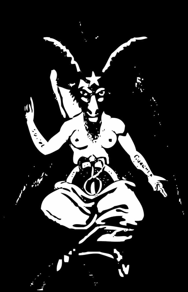 Baphomet is listed (or ranked) 2 on the list All The Symbology Associated With Satan, Decoded