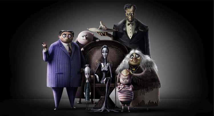 The Character Designs Are Heavily Influenced By Charles Addams's Original Cartoons
