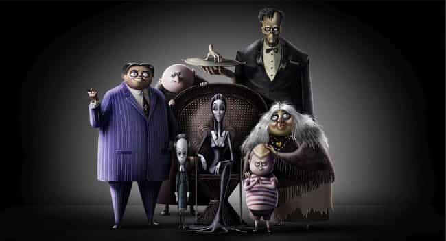 The Character Designs Are Heav... is listed (or ranked) 2 on the list Everything We Know About The 2019 Animated 'Addams Family' Movie