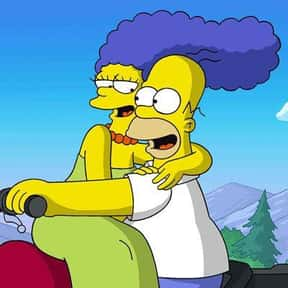 Marge & Homer is listed (or ranked) 10 on the list The Greatest Cartoon Couples In TV History