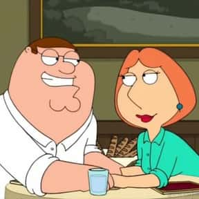 Peter & Lois is listed (or ranked) 17 on the list The Greatest Cartoon Couples In TV History