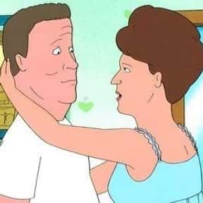 Peggy & Hank is listed (or ranked) 23 on the list The Greatest Cartoon Couples In TV History