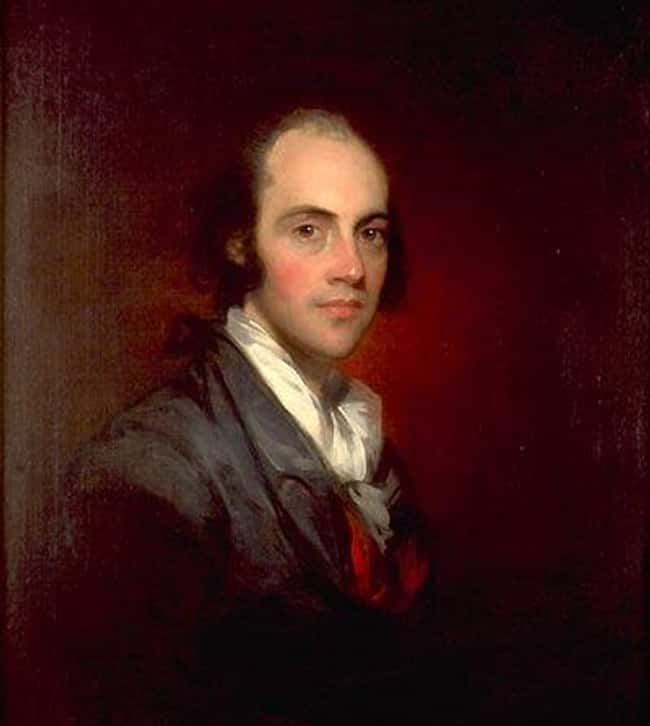 Aaron Burr Declared A Personal is listed (or ranked) 6 on the list The Strangest Reasons For Truces In Military History
