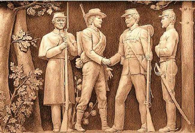 Confederate And Union Soldiers is listed (or ranked) 8 on the list The Strangest Reasons For Truces In Military History