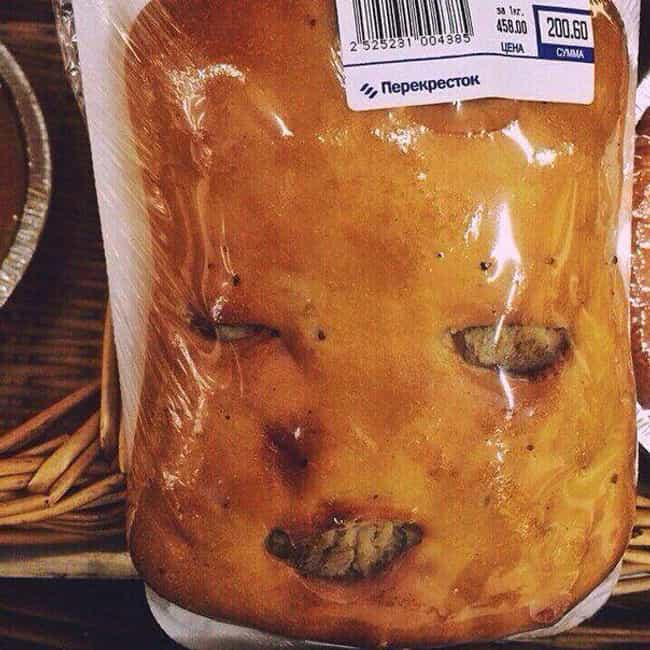 The Pie Man is listed (or ranked) 1 on the list The Scariest Pareidolia Photos From The Internet