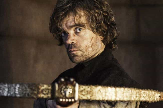 Tyrion Lannister Slays H... is listed (or ranked) 4 on the list Everything From 'Game Of Thrones' Season 4 You Need To Remember Before The Final Season
