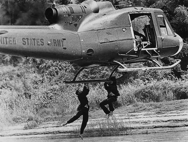 A Helicopter Mishap Left Rober... is listed (or ranked) 2 on the list Unbelievable Stories From Behind The Scenes Of 'The Deer Hunter'