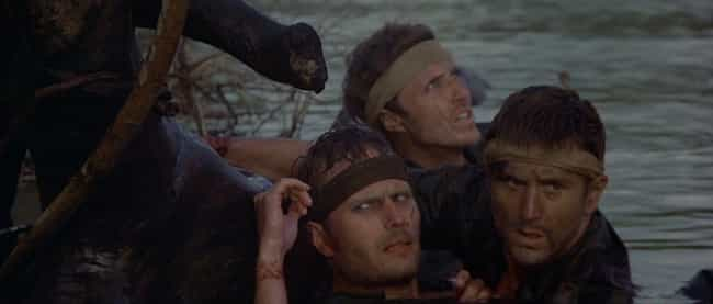The Cast Almost Drowned, And F... is listed (or ranked) 3 on the list Unbelievable Stories From Behind The Scenes Of 'The Deer Hunter'