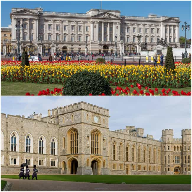 Elizabeth And Philip Liv... is listed (or ranked) 1 on the list Where Do All The British Royals Live?