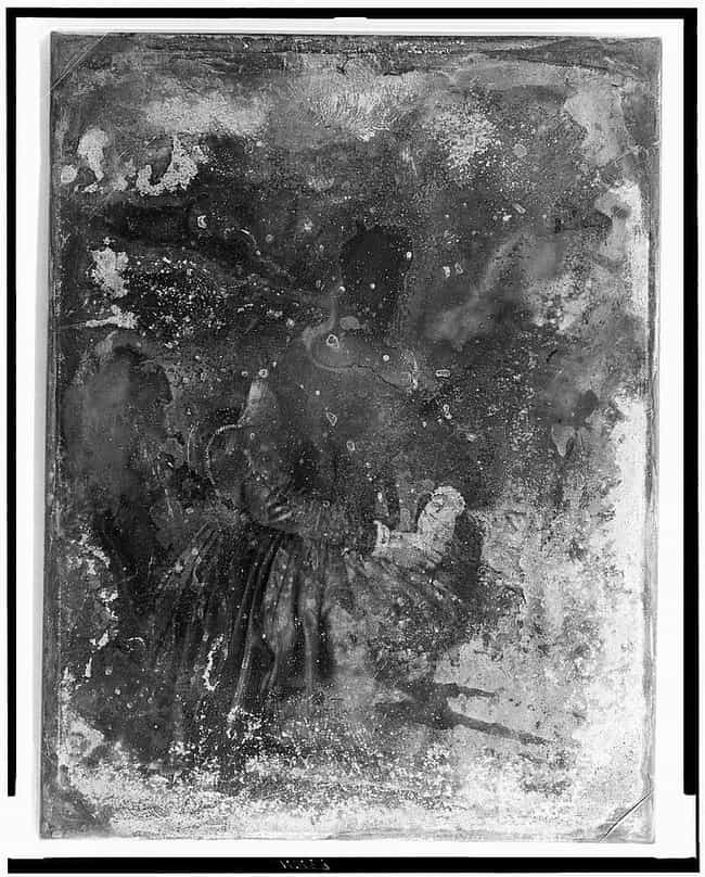 An Unidentified Woman is listed (or ranked) 4 on the list Haunting Damaged Daguerreotypes From The Early Days Of Photography