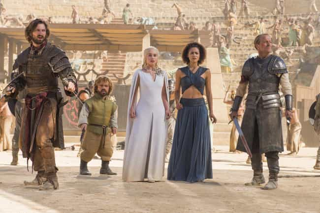 Tyrion Joins Daenerys is listed (or ranked) 3 on the list Everything From 'Game Of Thrones' Season 5 You Need To Remember Before The Final Season