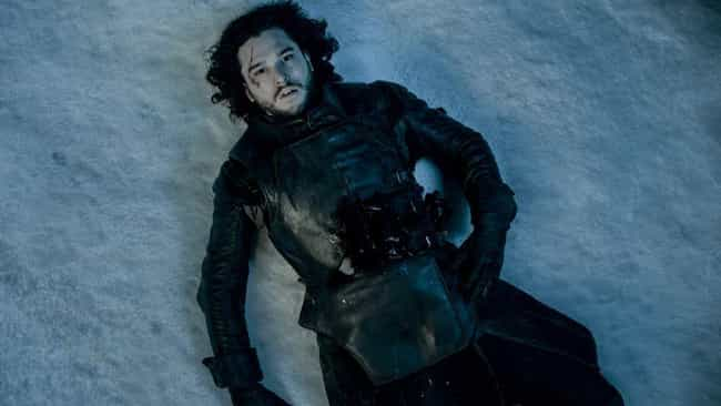 Jon Is Slain By His Brothers is listed (or ranked) 1 on the list Everything From 'Game Of Thrones' Season 5 You Need To Remember Before The Final Season