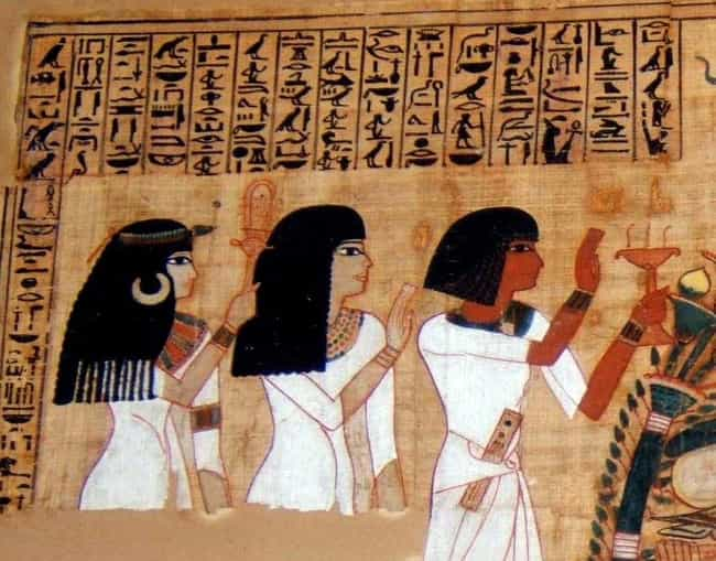 Egyptian Upper Class, Circa 26... is listed (or ranked) 1 on the list Which Haircut You Would've Had In Different Historical Eras