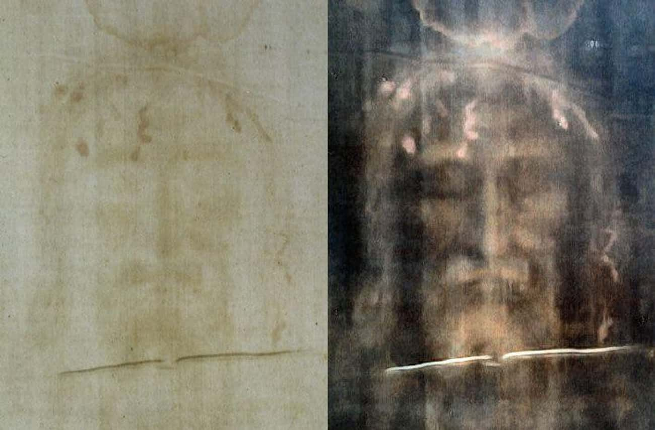 The Shroud Is A Photo Negative is listed (or ranked) 2 on the list All The Evidence For And Against The Shroud Of Turin