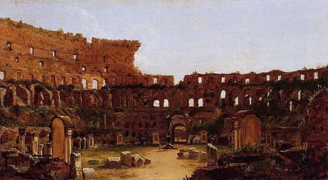 The Romans Built A Road ... is listed (or ranked) 4 on the list How Did The Romans Build The Colosseum?