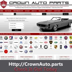 Crown Auto Parts & Rebuilding is listed (or ranked) 2 on the list The Best Auto Supply Websites