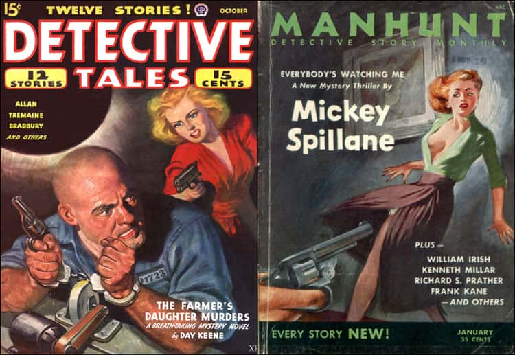 King Grew Up Reading Pulpy Detective Novels