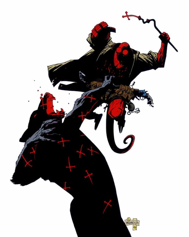'The Place And The Hour Of The... is listed (or ranked) 2 on the list The Most Violent Moments From 'Hellboy' Comics