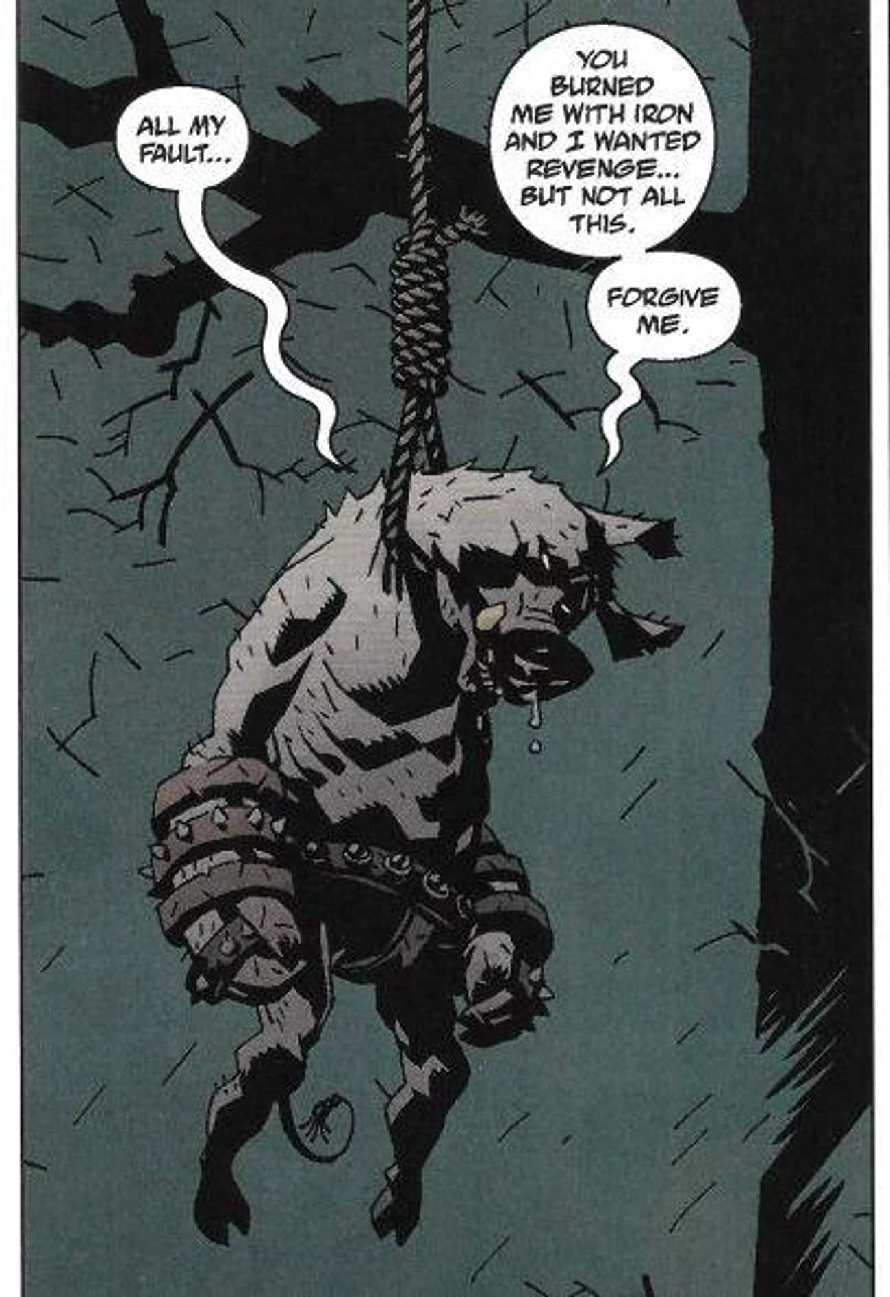 Gruagach Tries To Take His Own is listed (or ranked) 2 on the list The Most Violent Moments From 'Hellboy' Comics