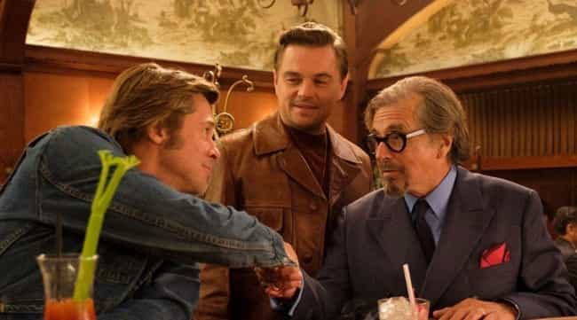 Tarantino Has Been Writing The... is listed (or ranked) 4 on the list Production Details That Will Get You Excited For 'Once Upon A Time In Hollywood'