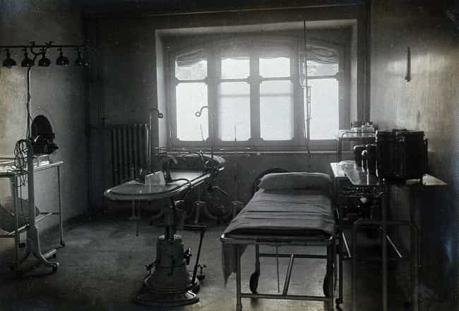 The Hospital Staff Was P... is listed (or ranked) 3 on the list One Doctor Invented A Fake Disease Called K Syndrome To Save Jews From The Nazis