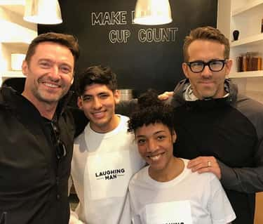 He Came To Hugh Jackman's Coffee Shop In New York City In Response To A Barista Job Listing