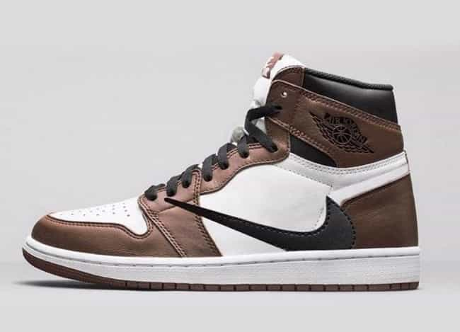 """Travis Scott x Air Jordan 1 """"C... is listed (or ranked) 1 on the list The Best Sneaker Releases in 2019"""