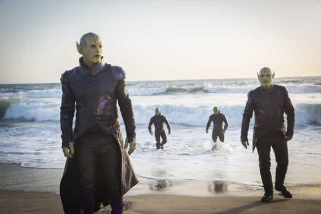The Missing Fourth Skrull Is A... is listed (or ranked) 1 on the list How 'Captain Marvel' Still Sets The Stage For 'Secret Invasion' In The MCU
