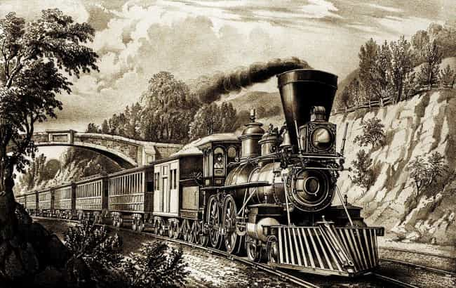 By Train In 1860: Four Weeks is listed (or ranked) 4 on the list How Long It Would Take You To Travel From New York To California Throughout American History