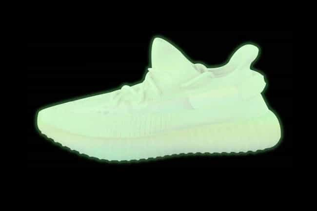 Adidas Yeezy Boost 350 V2 Glow... is listed (or ranked) 3 on the list The Best Sneaker Releases in 2019