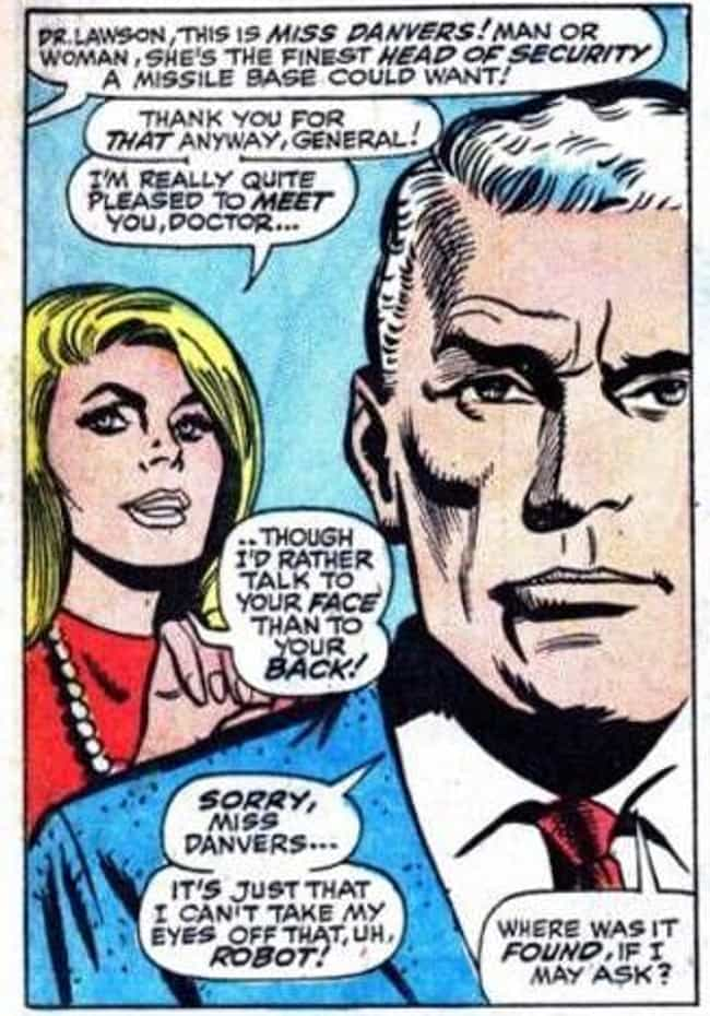 Long Before She Was Captain Ma... is listed (or ranked) 1 on the list The Decades-Long Path Carol Danvers Took To Become Captain Marvel In The Comics
