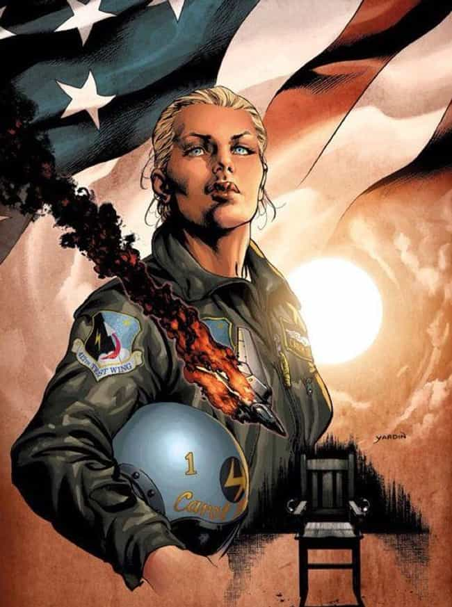 She Has A History Of Adventure... is listed (or ranked) 2 on the list The Decades-Long Path Carol Danvers Took To Become Captain Marvel In The Comics