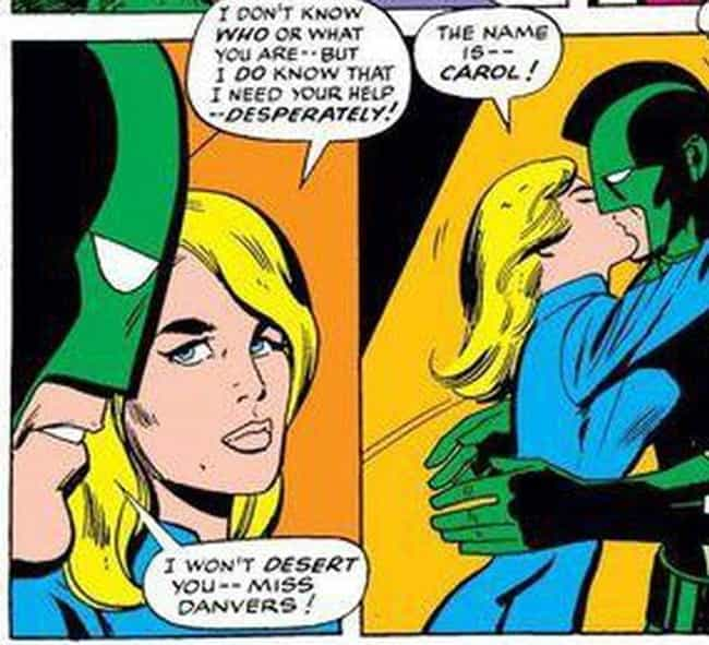 She Spends Time Working For NA... is listed (or ranked) 3 on the list The Decades-Long Path Carol Danvers Took To Become Captain Marvel In The Comics