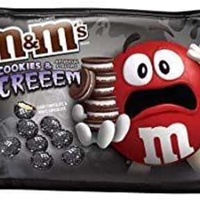 Cookies and Screeem M&Ms is listed (or ranked) 14 on the list The Best Flavors of M&Ms