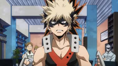 Katsuki Bakugo - My Hero Acade is listed (or ranked) 2 on the list The 20 Best Taurus Anime Characters Born April 20 - May 20