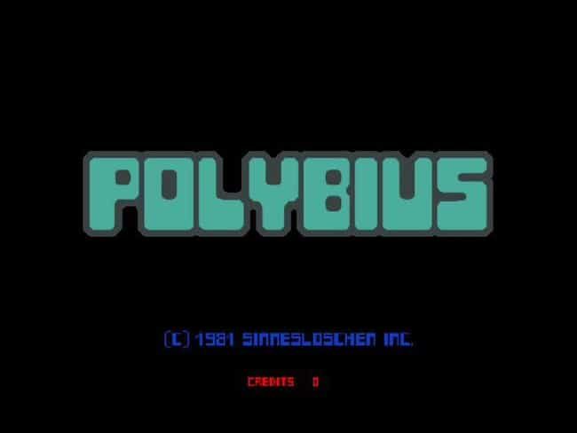 The Game's Title Screen Claims... is listed (or ranked) 4 on the list The Haunting Of 'Polybius,' An '80s Arcade Urban Legend