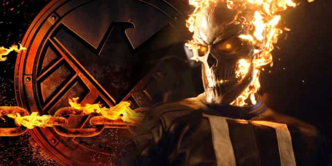 Ghost Rider is listed (or ranked) 4 on the list The Best 'Agents OF S.H.I.E.L.D.' Storylines