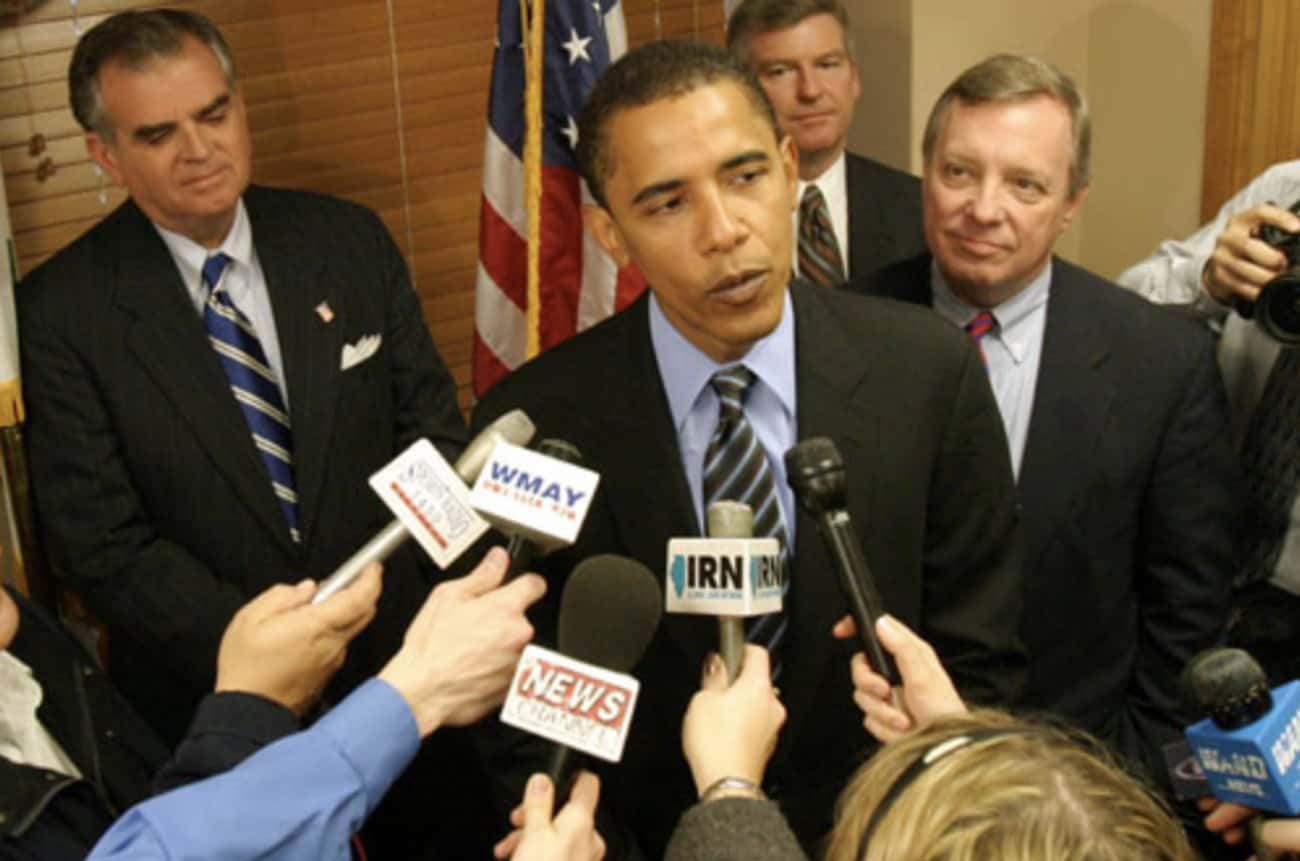 January 18, 2005: Obama Attended His First Senate Hearing And Was Bored By Biden's Speech