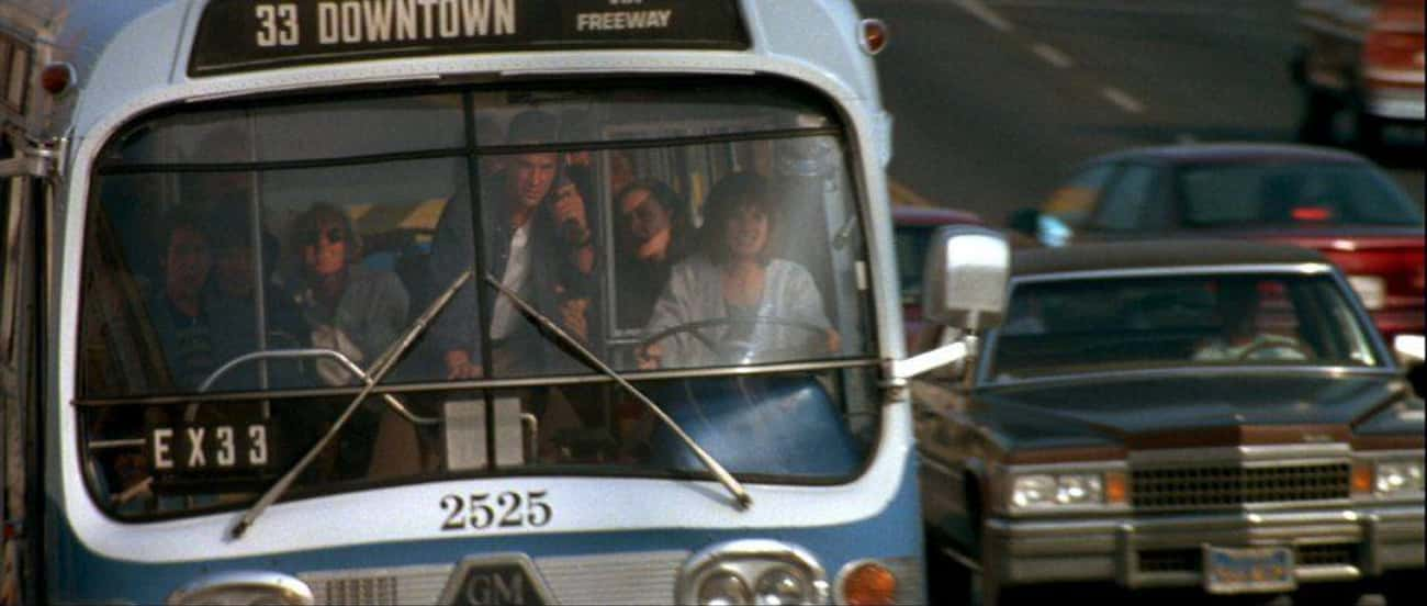 The Bus Jump Was Not In The Or is listed (or ranked) 4 on the list Behind-The-Scenes Stories From The Making Of 'Speed'