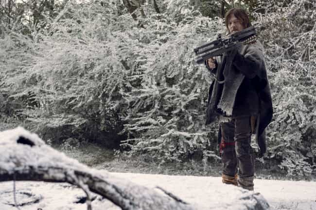 Ezekiel Doesn't Want Daryl Aro... is listed (or ranked) 7 on the list Everything That Happened In 'The Walking Dead' Season 9 Finale
