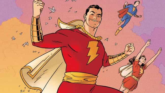 SHAZAM Is Actually An Ac... is listed (or ranked) 1 on the list The Weird Comic Book History Of Shazam And Why DC Was Right To Make The Movie Version A Comedy